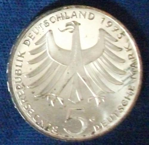 1975G Germany/Fed. Rep. 5 Mark Proof