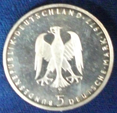 177G Germany/Fed. Rep. 5 Mark Proof