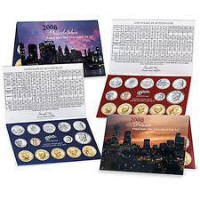 2008 US Mint Uncirculated Coin Set P&D