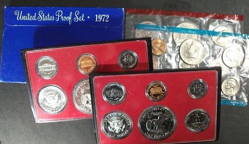 5 Proof Sets (1970-4), 1971 Mint Set