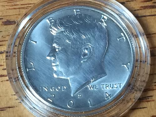 2014 D Silver Uncirculated