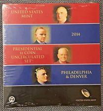 2014 P-D Presidential One Dollar Uncirculated Coin set (8 coins)