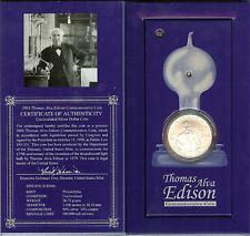 2004 Thomas Edison Lightbulb Commemorative