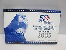 2005 US Mint 50 State Quarters Proof Set