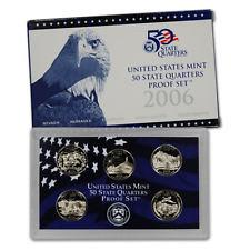 2006 US Mint 50 State Quarters Proof Set