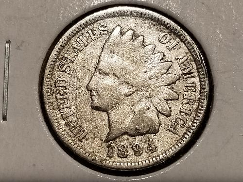 1894 P Indian Head Cent Small Cents