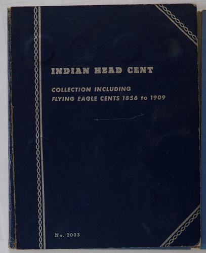 Flying Eagle and Indian Head Album. 33 coins.