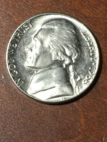 1968 S Jefferson Nickel Item 0219405