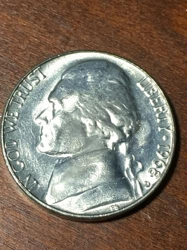 1968 D Jefferson Nickel Item 0219406
