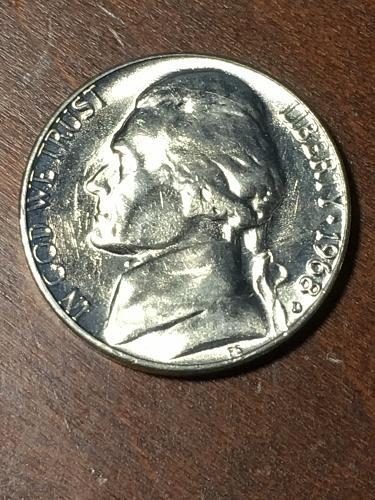 1968 D Jefferson Nickel Item 0219408