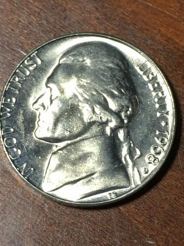 1968 D Jefferson Nickel Item 0219409