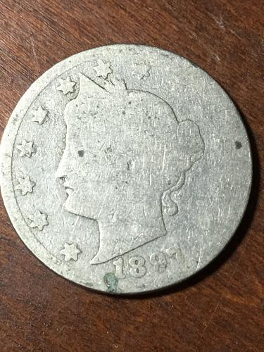 1897 Liberty Nickel Item 0219437