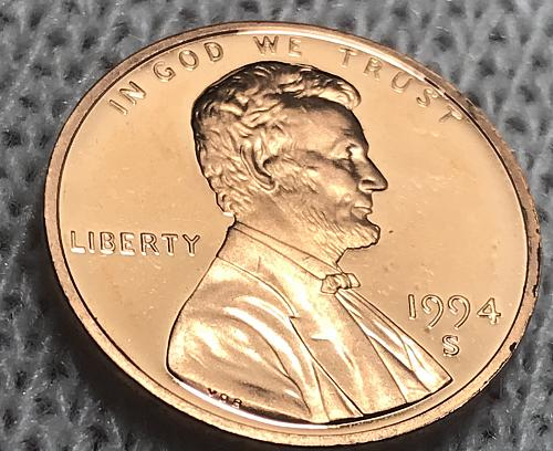 1994-S Proof Lincoln Cent