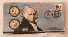 2007 Presidential $1 First Day Cover John Adams