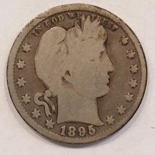 1895 Barber Quarter
