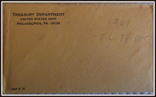 1964 1C-50C United States Mint Silver Proof Set