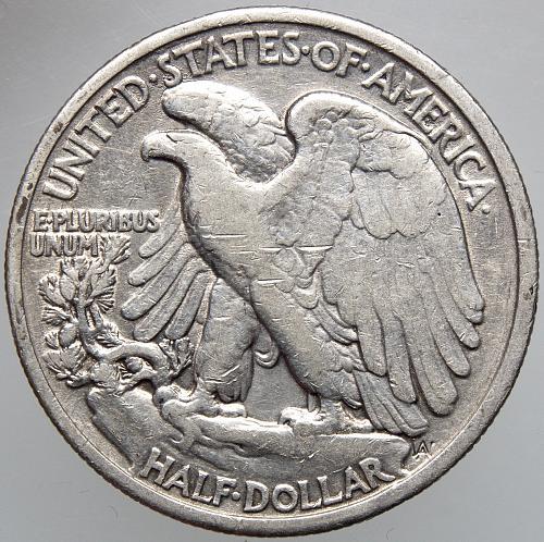 1935 P Walking Liberty Half Dollar #6