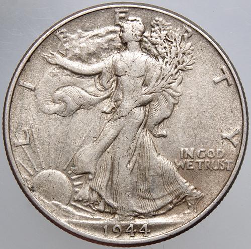 1944 P Walking Liberty Half Dollar #9