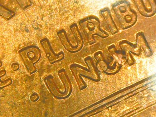 2004 D Double Die Reverse Uncirculated Uncertified Memorial Penny (00015)