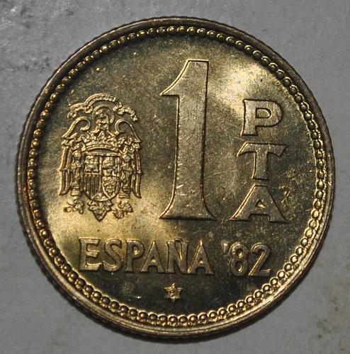 Spain Peseta 1981
