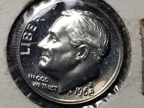 1968 S Roosevelt Dime - Proof