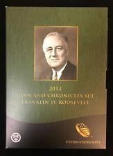 2014 Franklin Roosevelt Coin and Chronicles Set