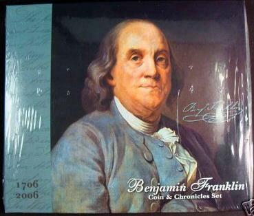 2006 Ben Franklin Coin and Chronicles Set