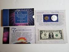 2000 Millenium Coin and Chronicles Set