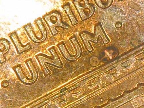 2003 D Double Die Reverse Uncirculated Uncertified Memorial Cent (00036)