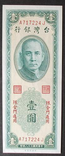 China/Taiwan R102 Yuan AU