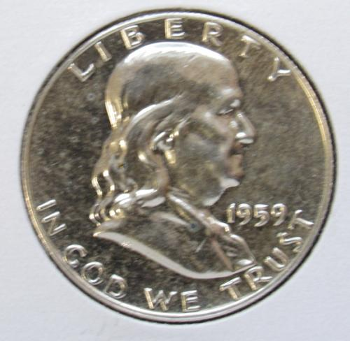1959 P Franklin Half Dollar Proof