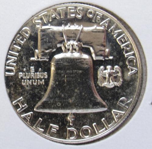 1959 P Franklin Half Dollar Proof