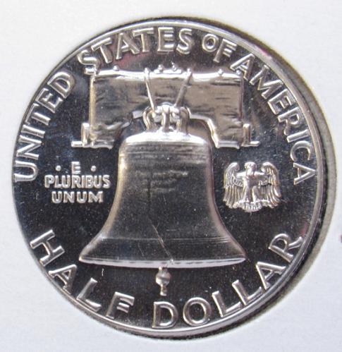 1961 P Franklin Half Dollar Proof Coin