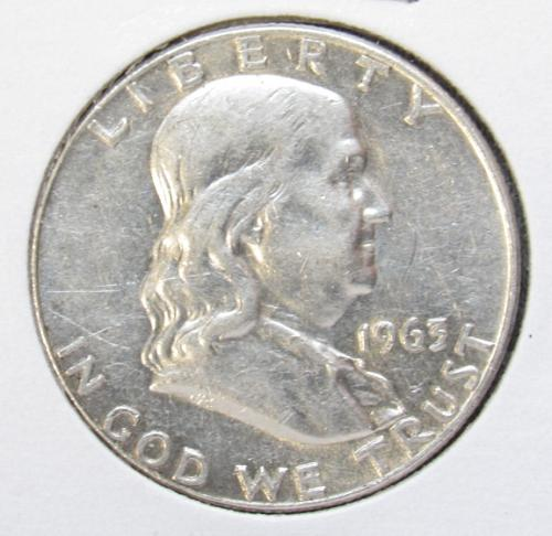 1963 D Franklin Half Dollar