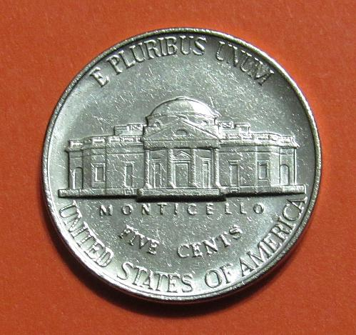 1990-P 5 Cents - Jefferson Nickel