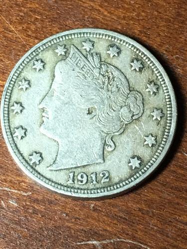 1912 Liberty Nickel Item 0419006