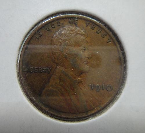 1910 Lincoln Cent Extra Fine-45