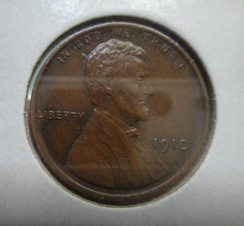 1910 Lincoln Cent Almost Uncirculated-58 Outstanding LUSTER . . .