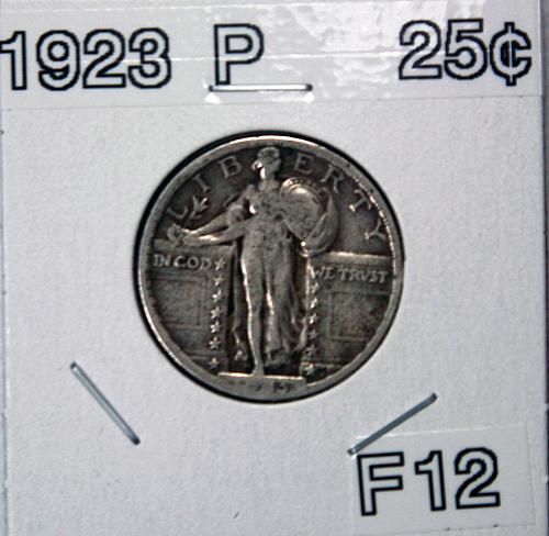 1923 P Standing Liberty Quarter