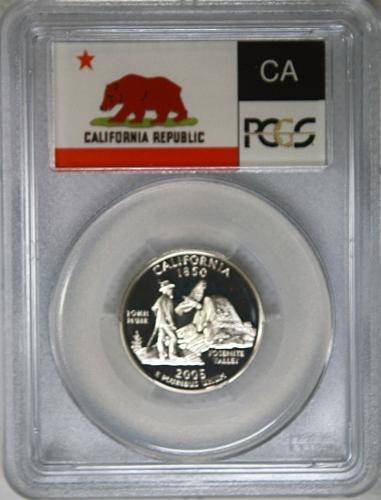 2005 S California State Quarter ***Silver Proof***