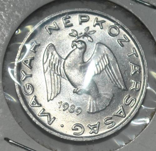 Hungary 10 filler 1989