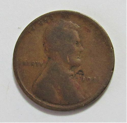 1911 1 Cent - Lincoln Wheat Cent