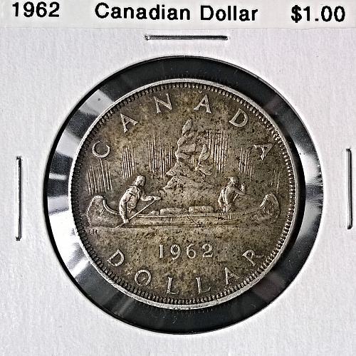 1962 Canadian Dollar - 6 Photos!