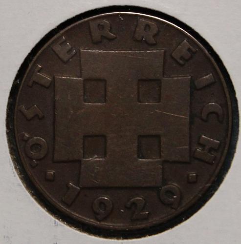 Austria 1929 2 grochen