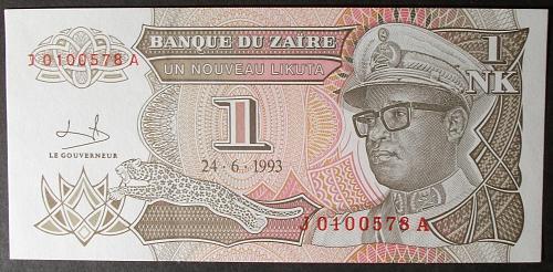 Zaire P47a Nouveau Likuta UNC65 #2