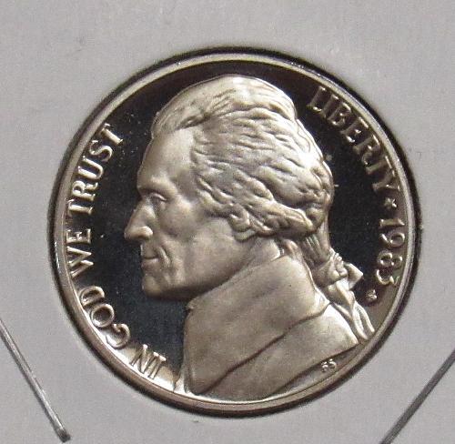 1983 S Proof Jefferson Nickel