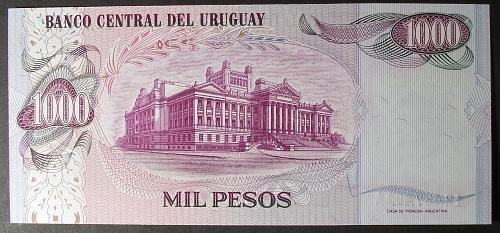 Uruguay P52 1000 Pesos UNC65
