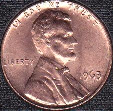 1963 P Lincoln Memorial Cent
