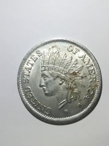 1851 1 Dollar (REPLICA) USA.