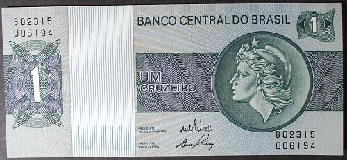 Brazil P191Aa Cruzeiro UNC65